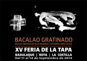 XV FERIA DE LA TAPA BACALAO 1