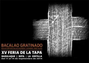 XV FERIA DE LA TAPA BACALAO 2