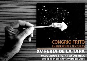 XV FERIA DE LA TAPA CONGRIO